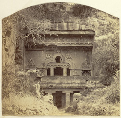 Entrance [to Visvakarma], Ellora